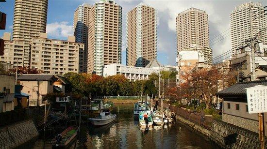Tsukishima Monjya Street: Dans les rues de Tsukishima