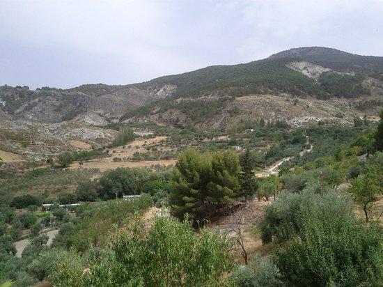 La Almunia del Valle:                   uitzicht