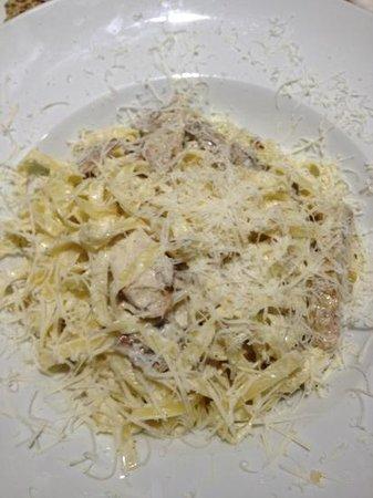 Pizzeria Mandala : The pasta was delicious too!