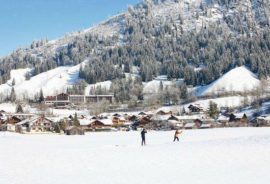 Hotel Prinz-Luitpold-Bad: Im Winter mit Loipe