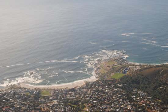Bateleurs Rontree:                   view on camps bay
