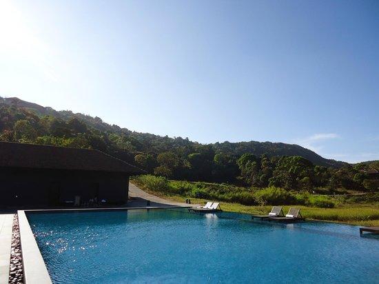 Swimming pool view picture of vivanta by taj madikeri - Resorts in madikeri with swimming pool ...