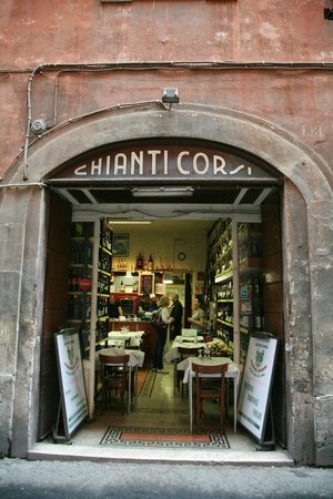 Photo of Italian Restaurant Enoteca Corsi at Via Del Gesu' 88, Rome 00186, Italy