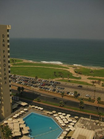 InterContinental David Tel Aviv:                   Amazing view from the room!