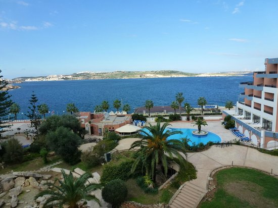 Dolmen Hotel Malta: View from room