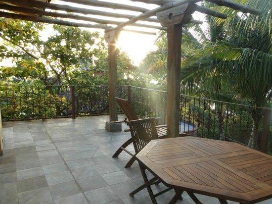 Hotel Villa Romana: Terraza