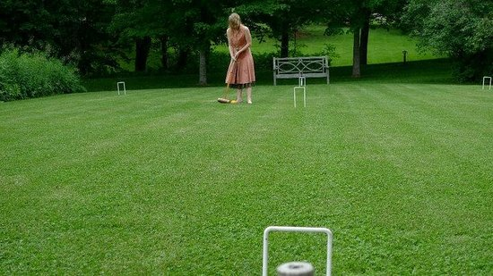 Twin Farms: croquet