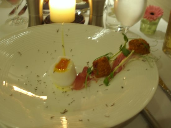 The Spa Hotel at Ribby Hall Village: Duck egg starter
