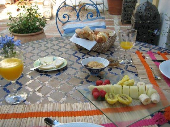 Casa El Aguila: The breakfast