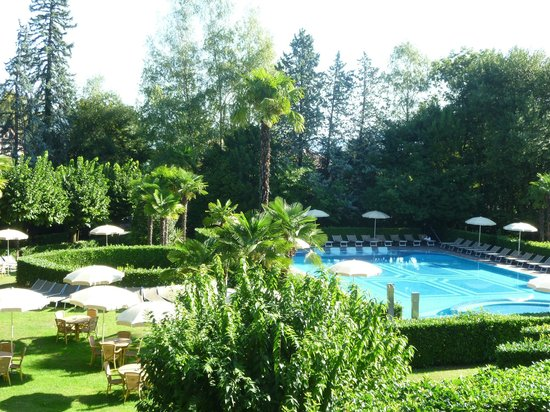 Hotel Simplon: The outdoor pool