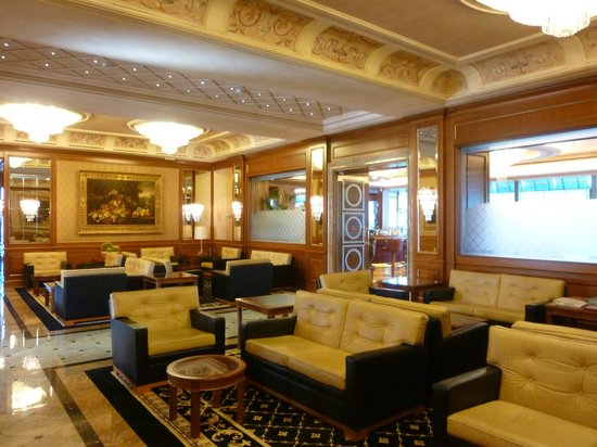 هوتل سيمبلون: Lounge area 