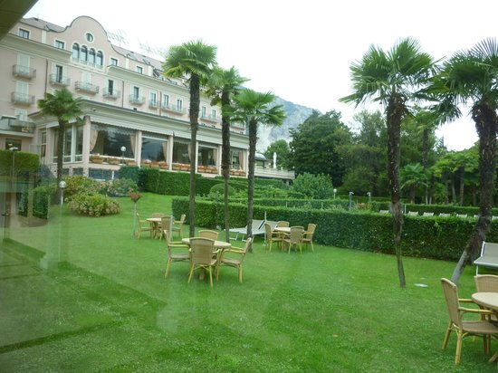 Hotel Simplon: The grounds of the hotel