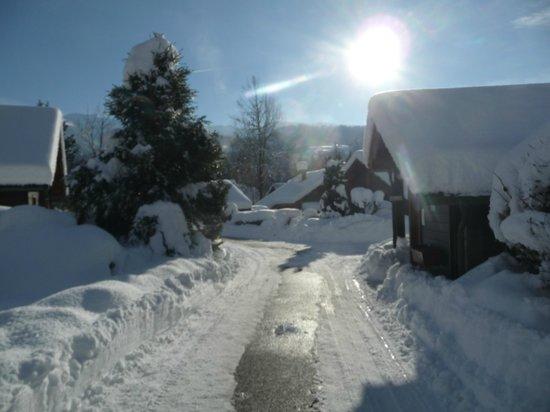 Les Hameaux Du Giffre : hiver