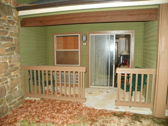 Wilburton, OK: Private Porch