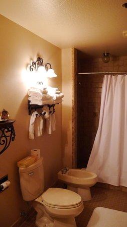 Enzian Inn:                   restroom