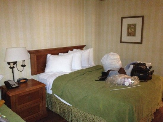 Best Western Plus Raffles Inn & Suites:                   one of the 2 queen beds in the main room
