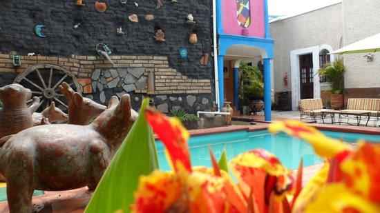Casa Armonia: Alberca-terraza
