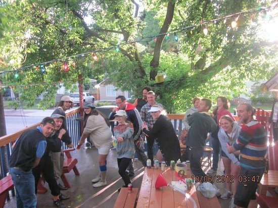 Kelowna International Hostel:                                     Pub Golf.. pub crawl 'golf' style