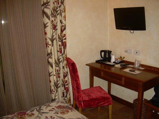Hotel Residenza San Calisto: Particolare camera