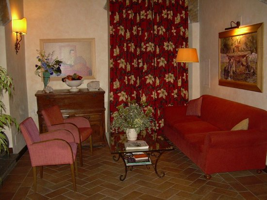 Hotel Residenza San Calisto: Hall