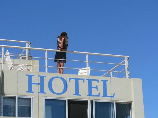 Le Club Posada: Le Club terrace