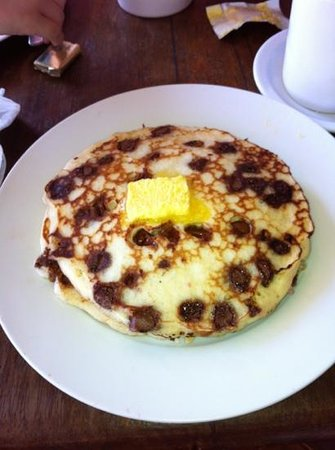 Kathy's Waffle House : cholocate Pancakes