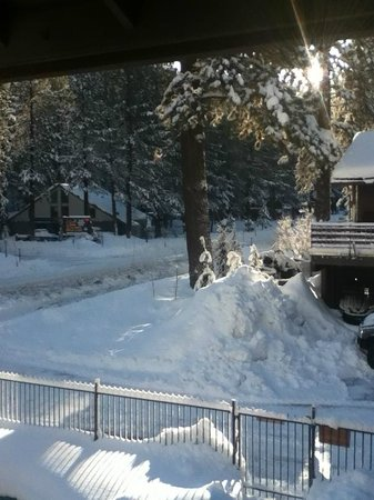 Alder Inn : View from our room