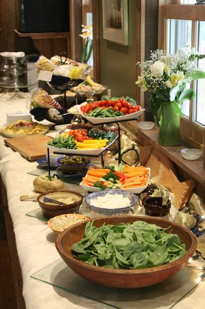Namaste Esperanza An Integrated Wellness Retreat: Buffet lunch