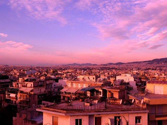 Novotel Athenes:                   View