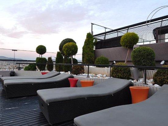 Novotel Athenes:                   Roof