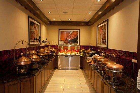 Sahib: The lunchtime Buffet station $12.95 (plus tax)