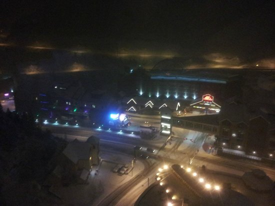 Ameristar Casino Resort Spa Black Hawk:                   night city view