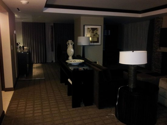Ameristar Casino Resort Spa Black Hawk:                   main room of mountain pine suite