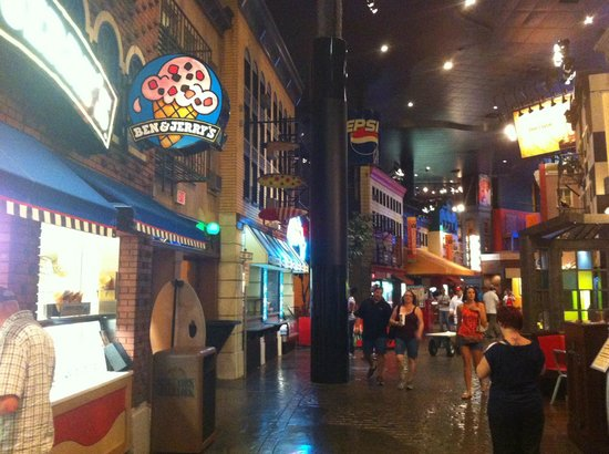 Inside Picture Of New York New York Hotel And Casino