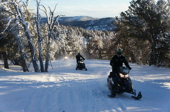Beaver Creek Lodge Guided Snowmobile Tours: .
