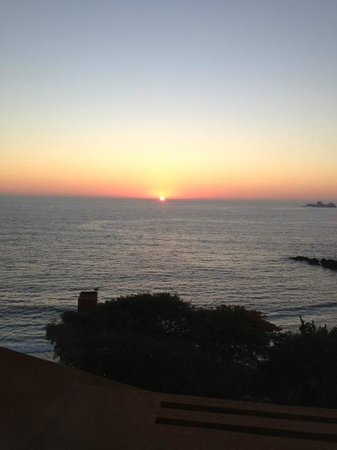 Las Brisas Hotel Collection Ixtapa:                   Sunset view from Las Brisa II Restaurant