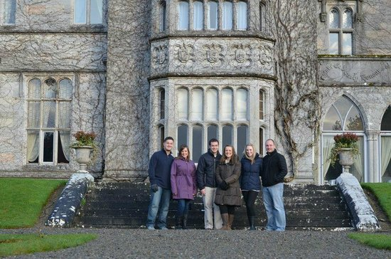 Adare Manor: In front of the manor