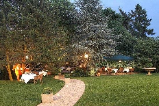 Ringhotel Mersch: Entspannen im Hotelgarten