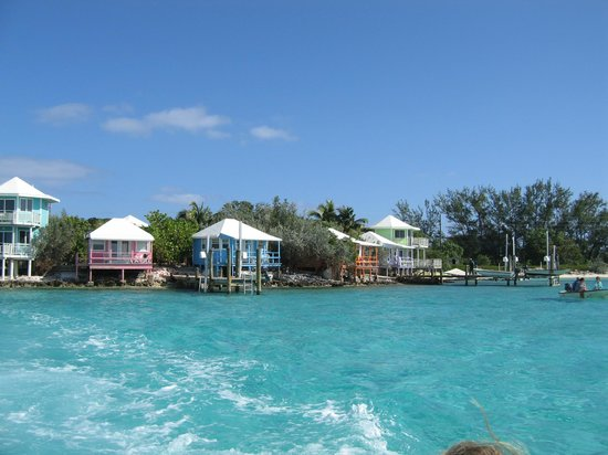Staniel Cay Yacht Club: The cottages