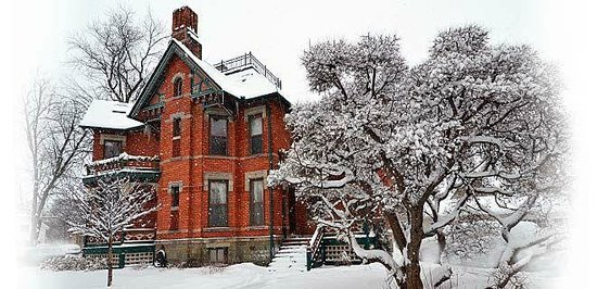 Winter at The Historic Webster House