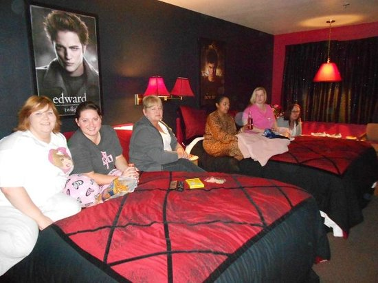 The Pacific Inn Motel:                   Movie Night...in our Twilight Room