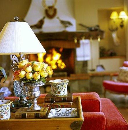 Hotel Estalagem St Hubertus: Sala da Lareira