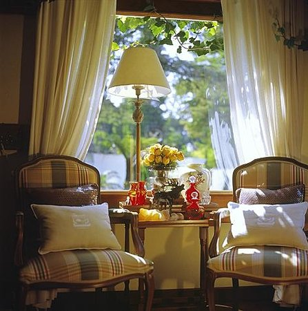 Hotel Estalagem St Hubertus: Estar recepção