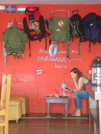 Pariwana Hostel Lima: Comedor