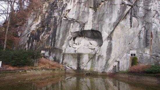 Ameron Hotel Flora Luzern:                   Lion Monument