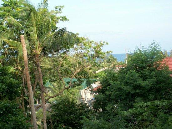 Orchids Resort: veranda view 