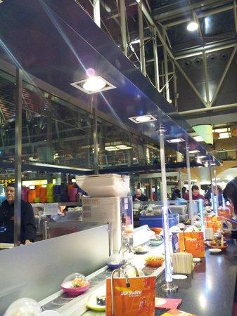 Yo! Sushi - Paddington Station