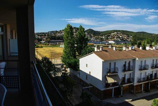 Aqua Hotel Onabrava: Vue de la terrasse de la chambre