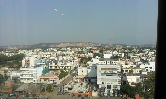 Four Points by Sheraton Jaipur, City Square:                   Jaipur city landscape view from my room