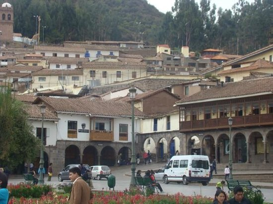 Pariwana Hostel Cusco: Plaza de armas